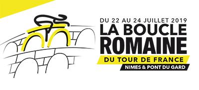 La Boucle Romaine - Tour de France 2019 - Ville de Nîmes - Gard - Pont du Gard