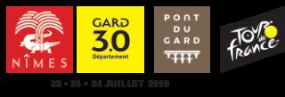 Nîmes - Gard - Pont du Gard - Tour de France